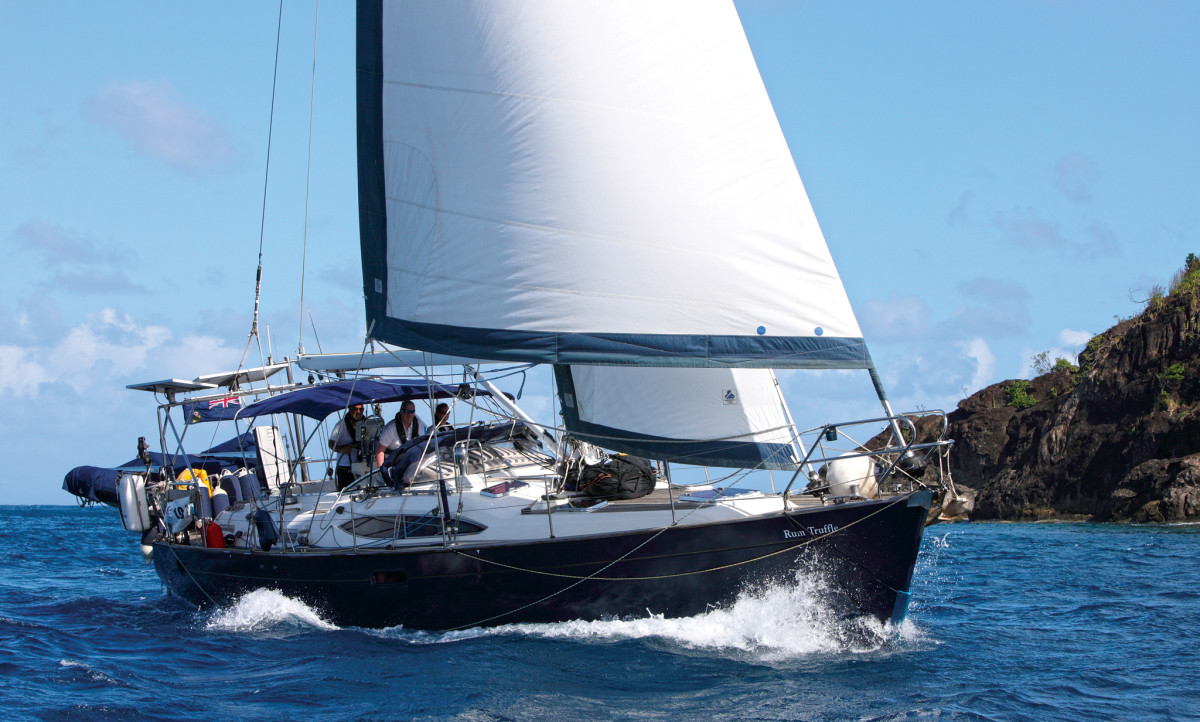 Rum Truffle's self-steering troubles made for an especially long crossing