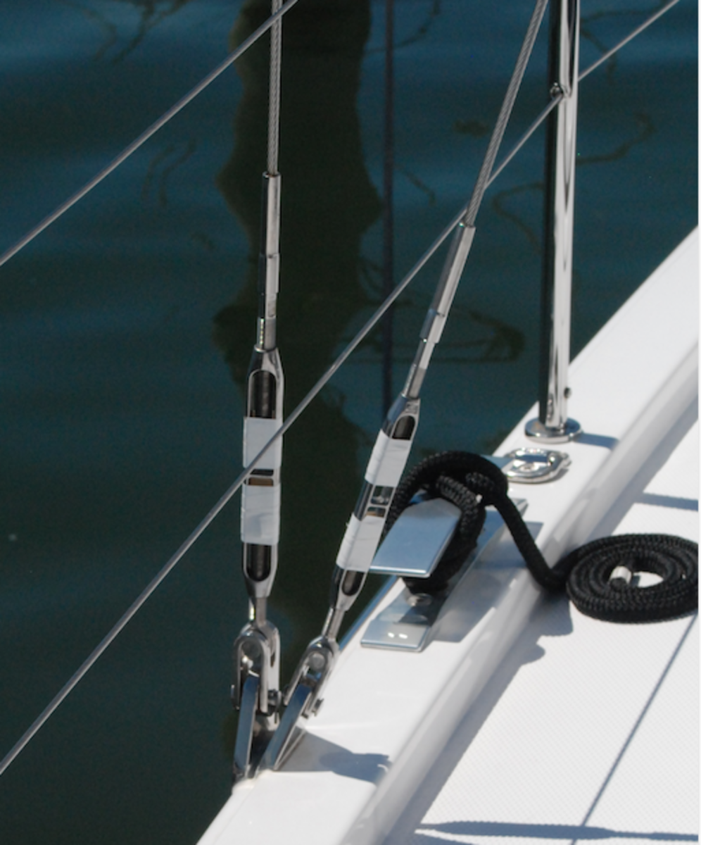Keeping a close eye on your standing rigging is part of good seamanship
