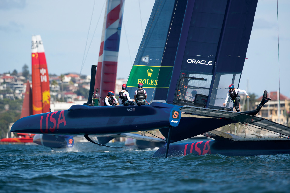 The young American team has everything to prove in the U.S. rounds of SailGP