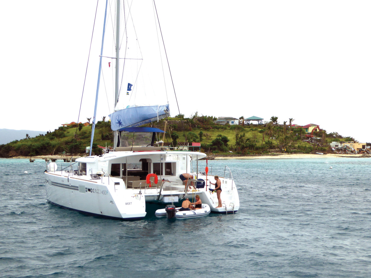 Owning a yacht in charter can be an excellent investment—for the right sailors