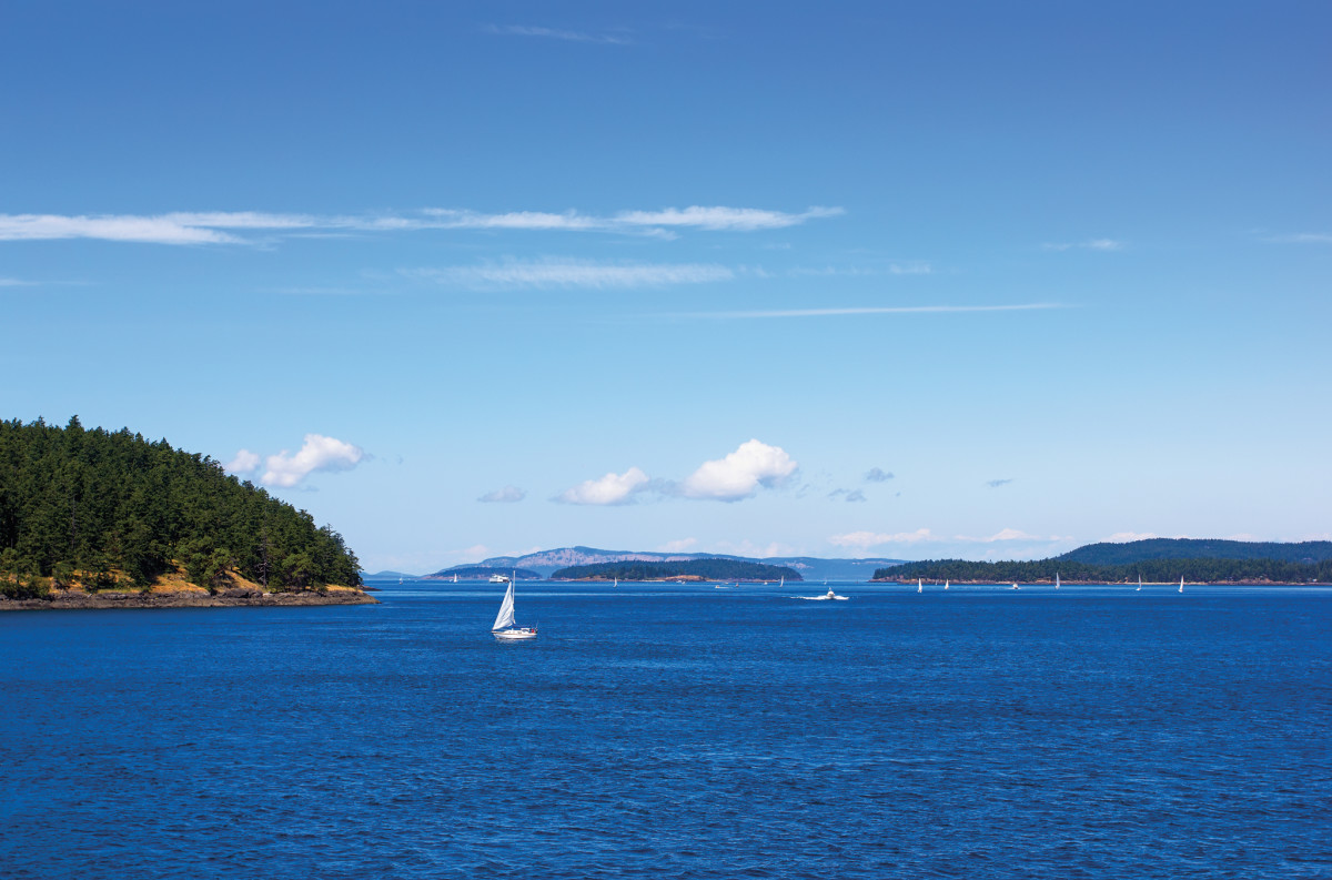 The San Juan Islands are a sailor's paradise