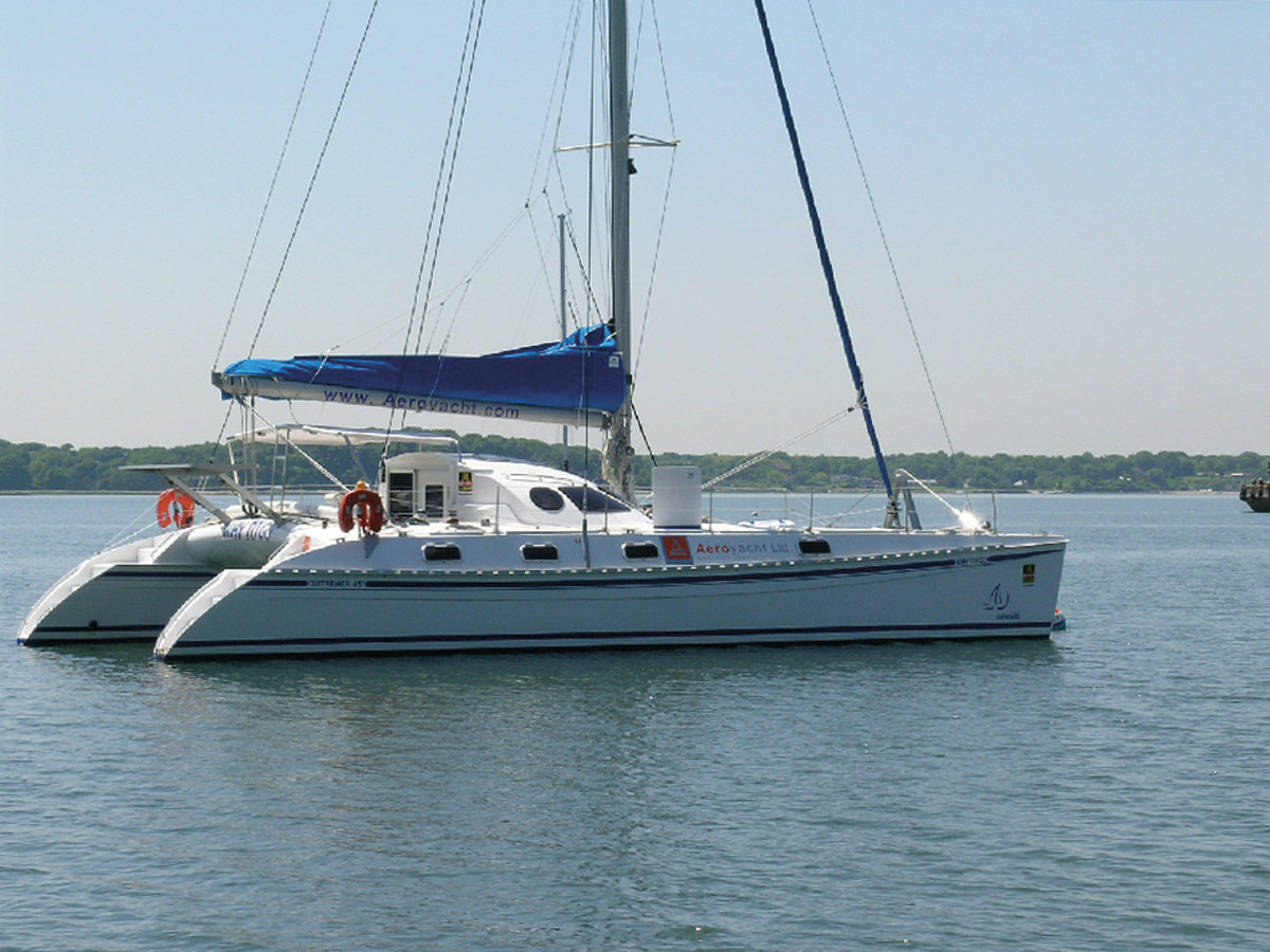 The Outremer 45 is fast and nimble