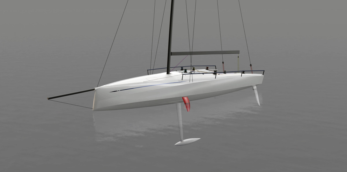 The ClubSwan 36 has a lean and hungry look