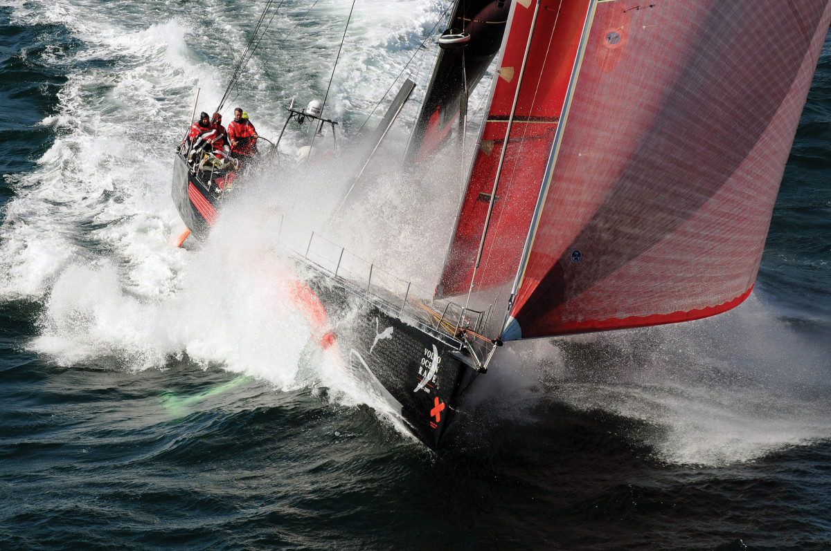 As skipper of Puma, Read finished second and third overall in his two Volvo Ocean Races