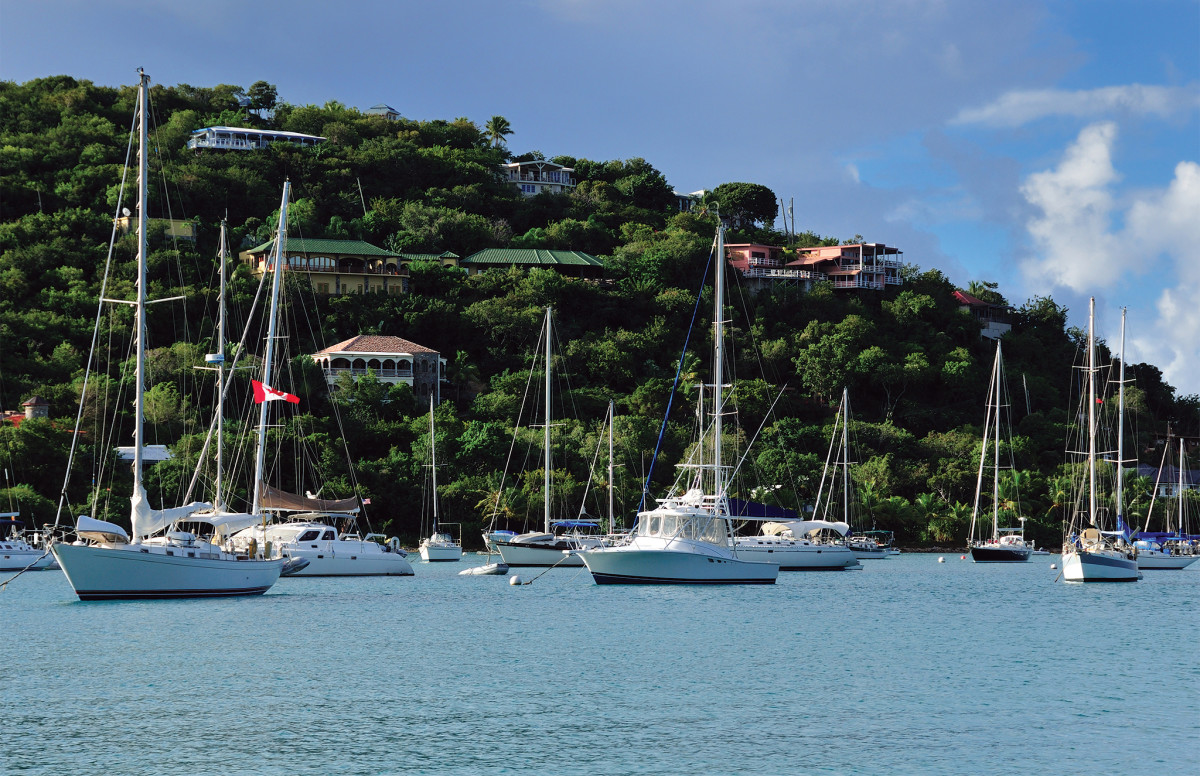 The island of St. John quickly became a harbor of last resort for dozens of cruisers this past spring as the coronavirus shut down the Caribbean