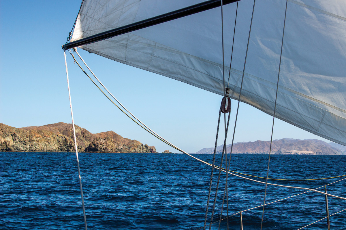 Baja is dry and rocky, but also starkly beautiful