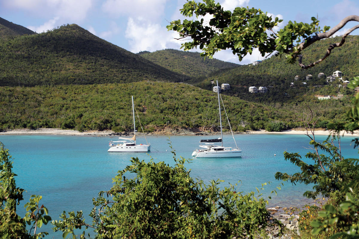 There's plenty to do while cruising the pristine waters of the U.S. Virgin Islands