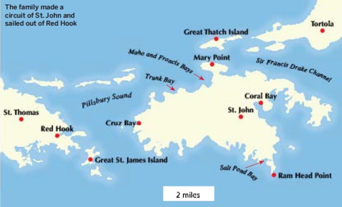 Map-USVI