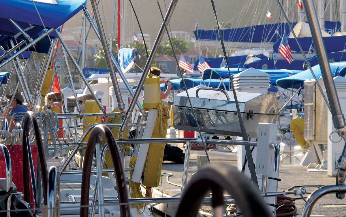 Veteran bareboat charterers know to take a close look at their boats before casting off lines