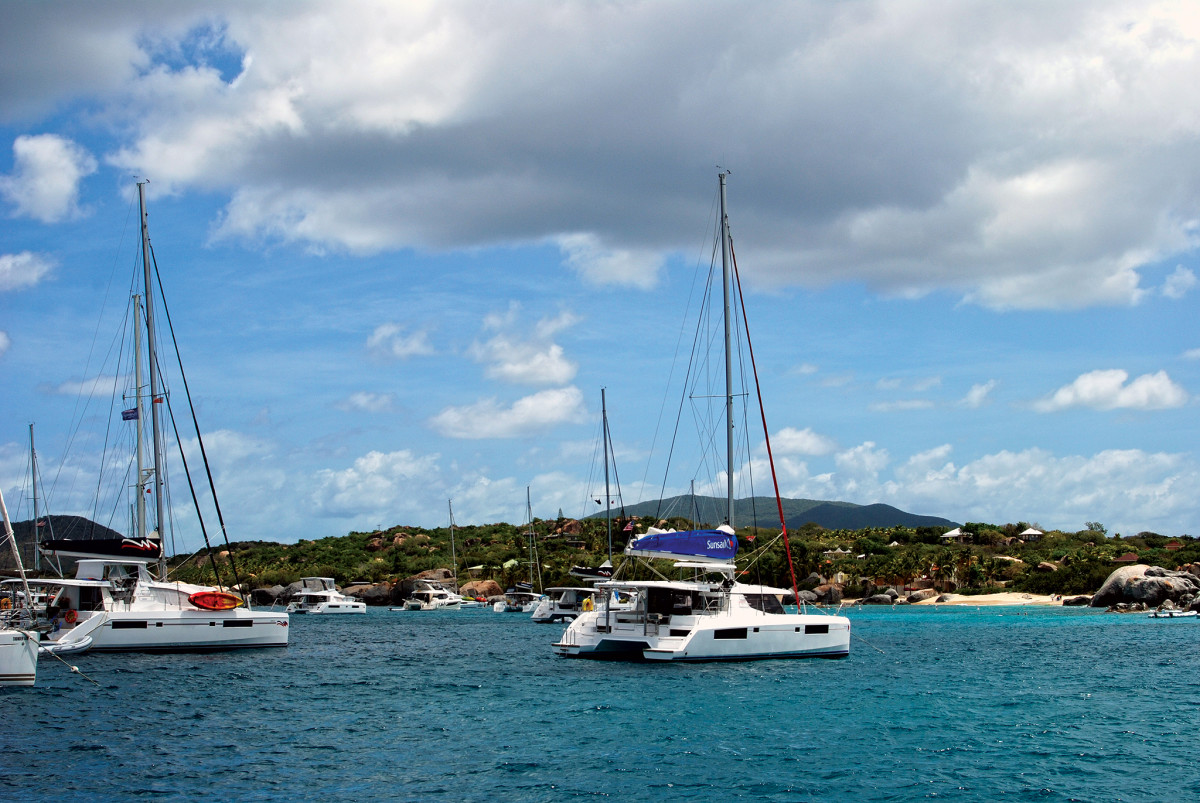 In places like the BVI, cats dominate the charter industry for good reason