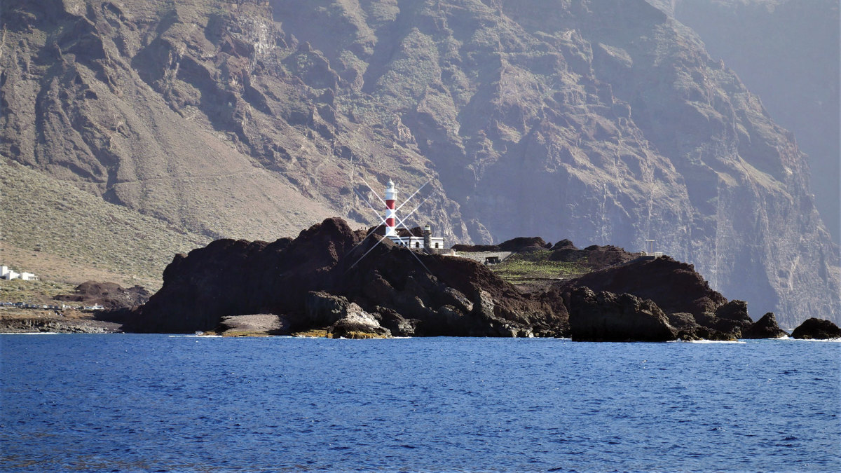 The landfall at Tenerife was a spectacular one