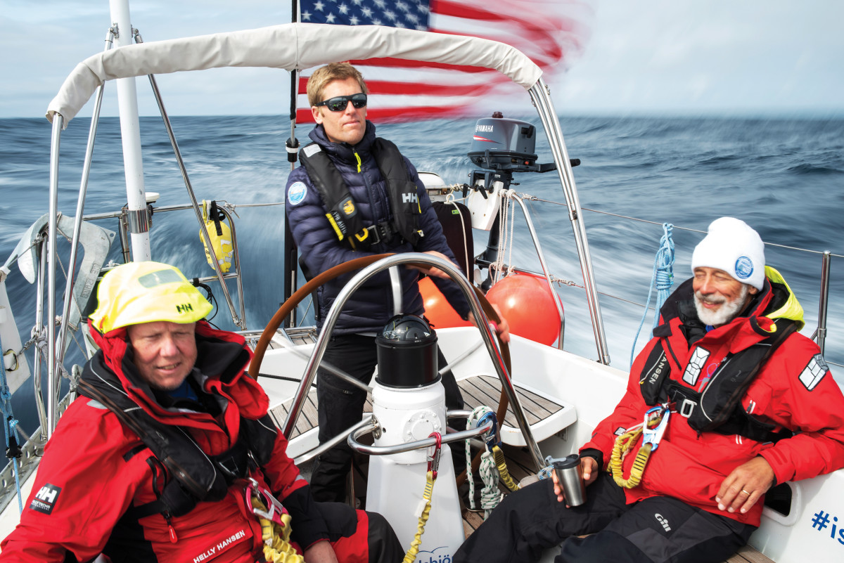 Making good time in fair winds and following seas