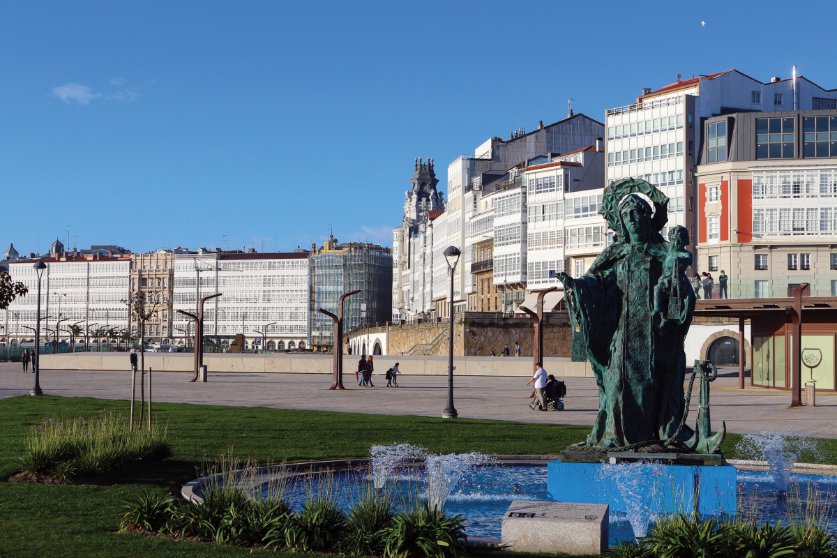 A Coruña, Spain, is one of the many historic cities rimming the Bay of Biscay