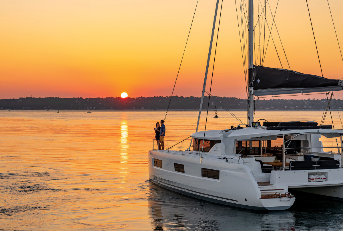 Charter ownership is a great way of managing the purchase of boats like this Lagoon 46