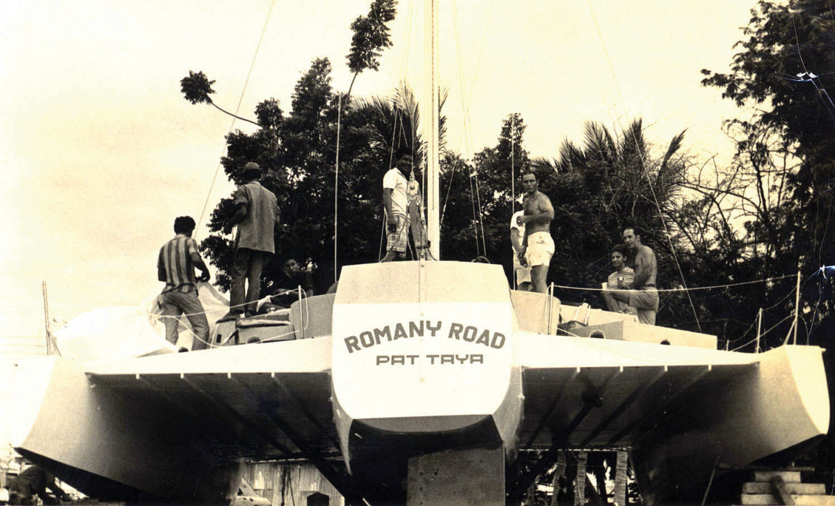 Launch day for Romany Road in Thailand