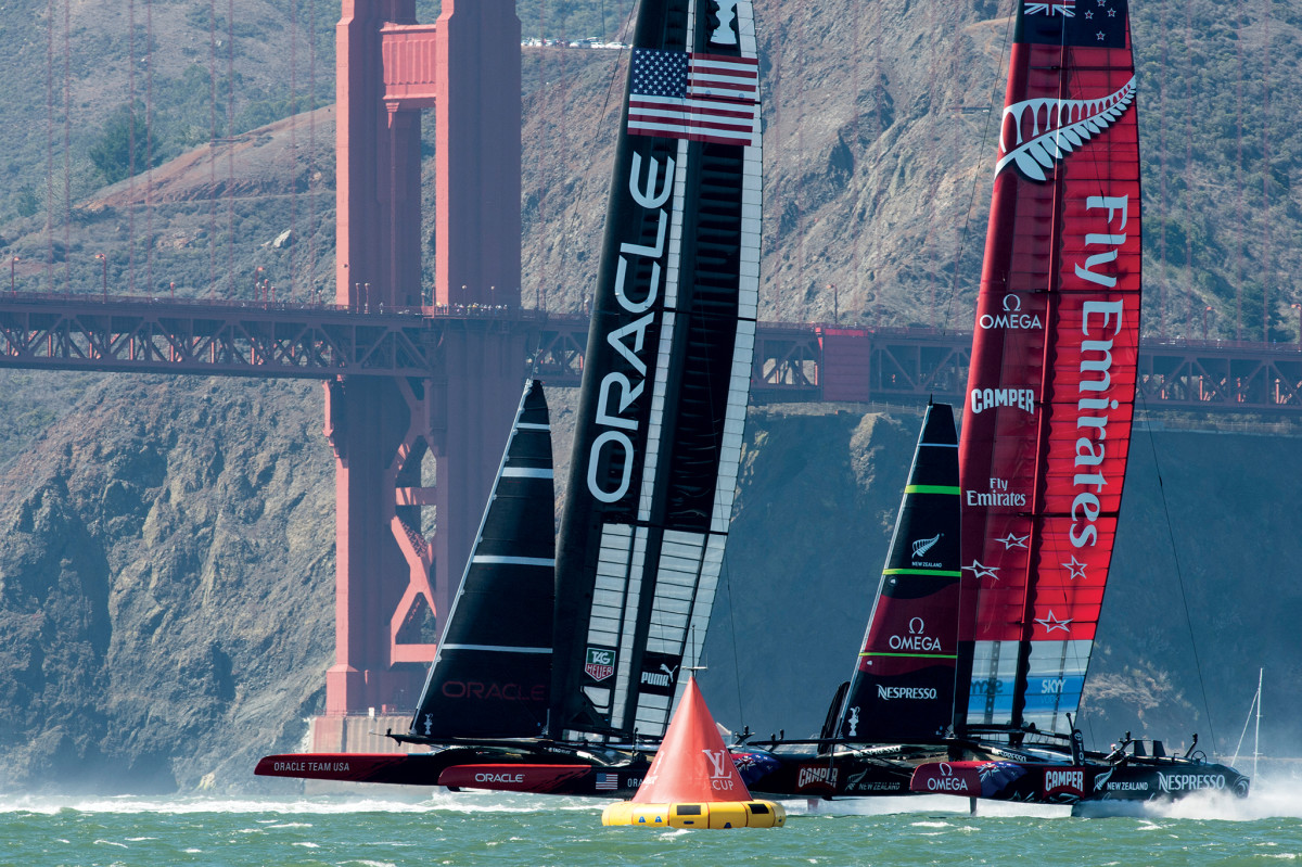The 34th America's Cup on San Francisco Bay