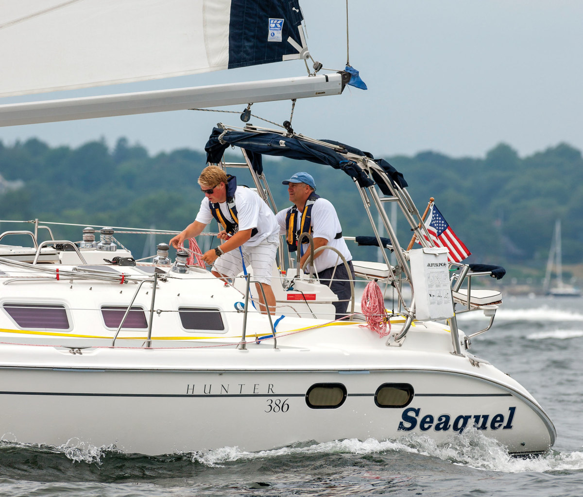 Picking the right shipmate for doublehanded racing is crucial