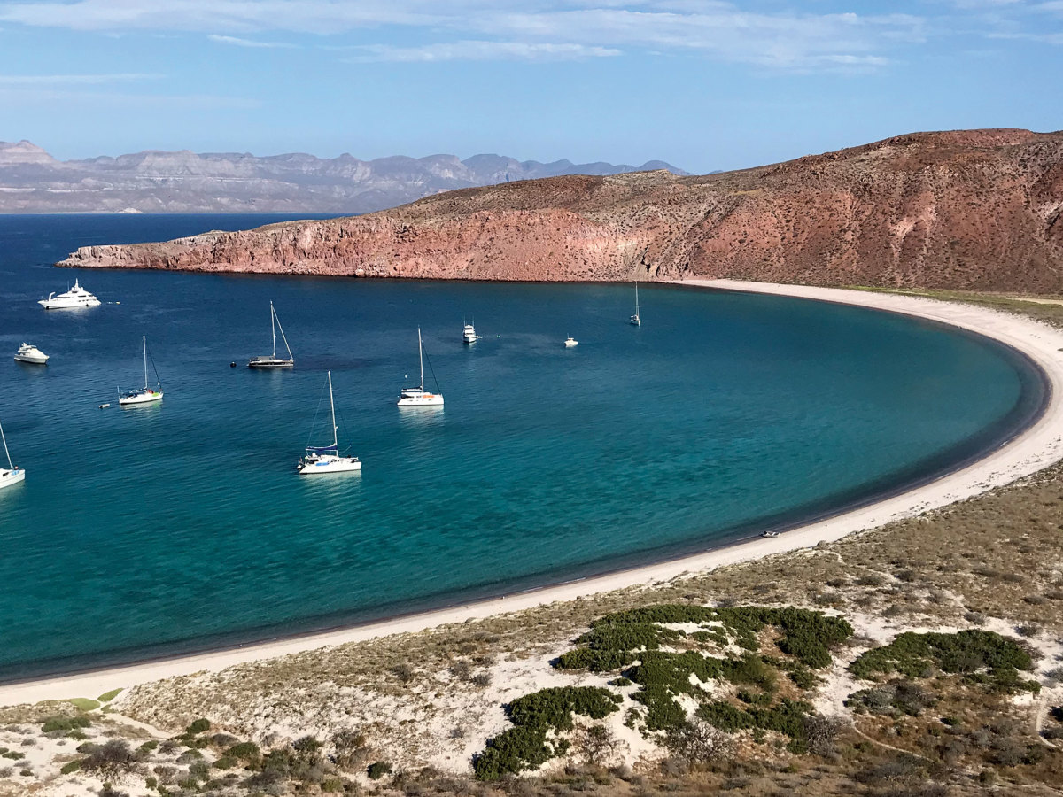 There's a stark beauty to the dry coastlines of the Sea of Cortez