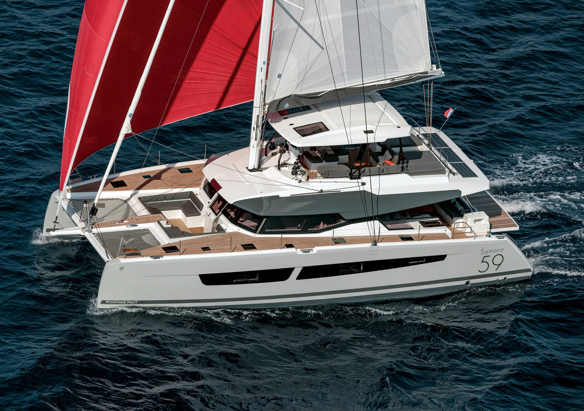 Fountaine-Pajot-Samana-59-Sailing