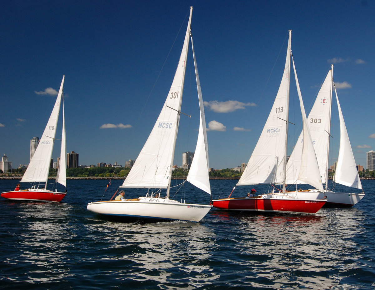 Although the past summer was a tough one for the Milwaukee Community Sailing Center, there was still plenty of sailing to be had out on Lake Michigan