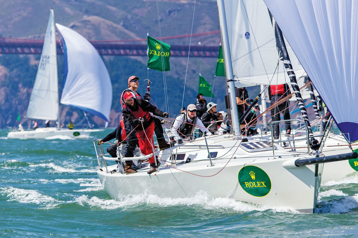 The St. Francis Yacht Club's Big Boat series is one the many premiere events slated to make a return in 2021