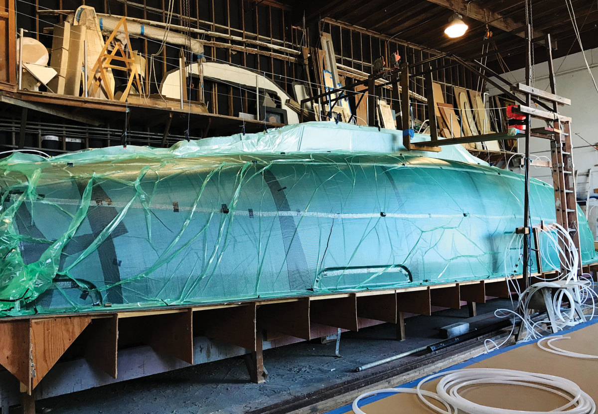 The boatbuilding trade is both complex and a whole lot of work