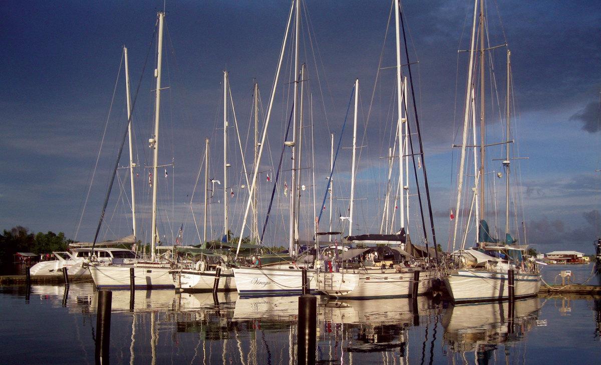 Though remote, Bocas del Toro still boasts no less than three fine marines