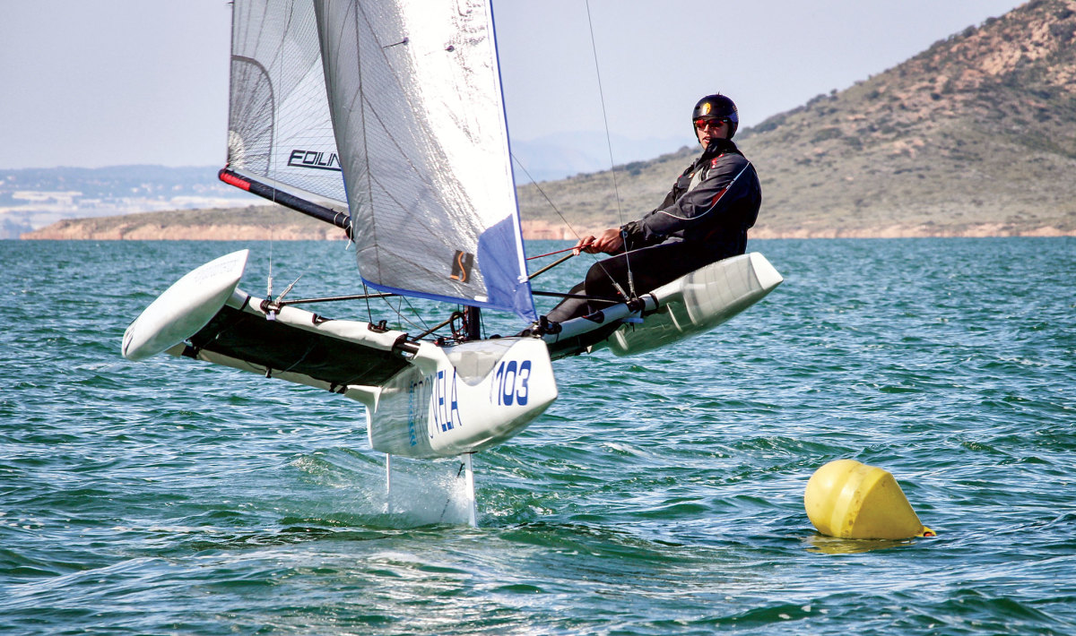 Foiling has only made sailing that much larger