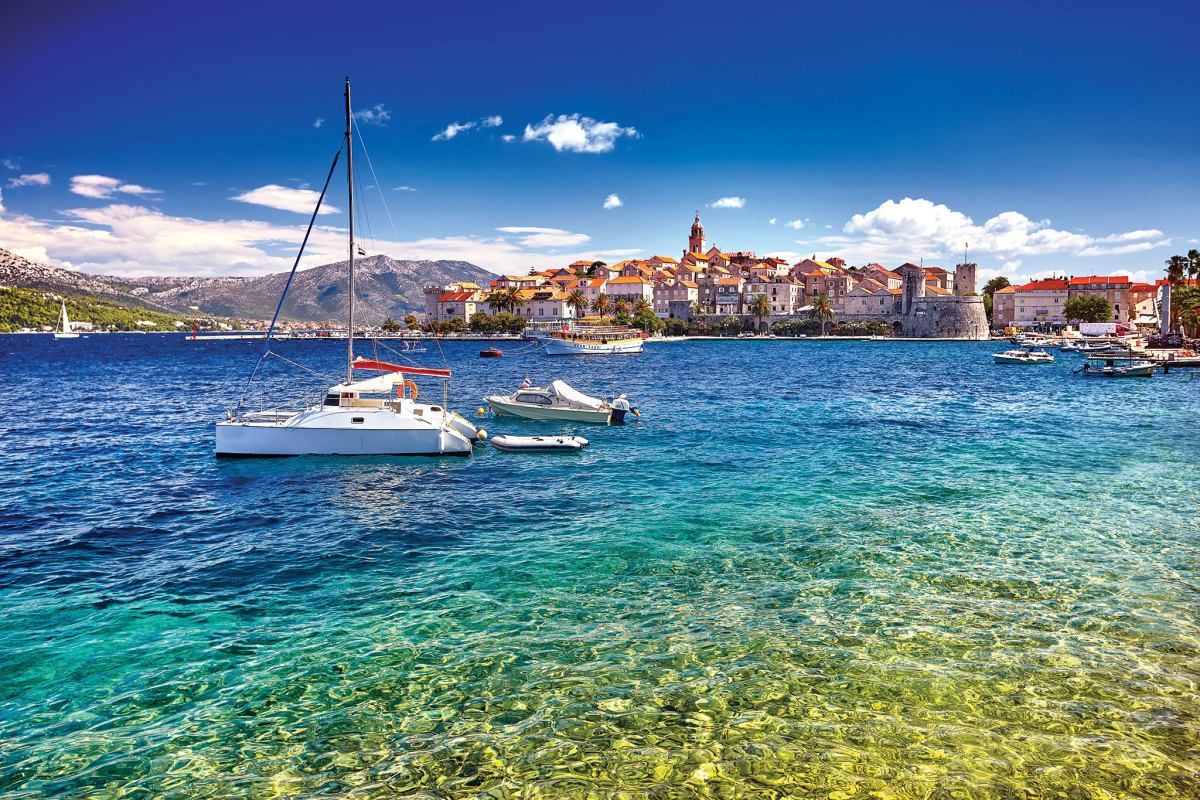Korcula, the birthplace of Marco Polo, hasn't changed much over the centuries