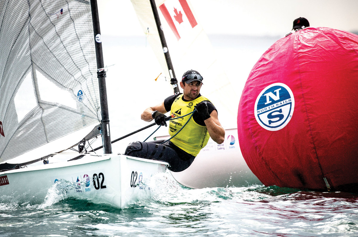 U.S. Finn sailor Caleb Paine is looking good as the Olympics approach