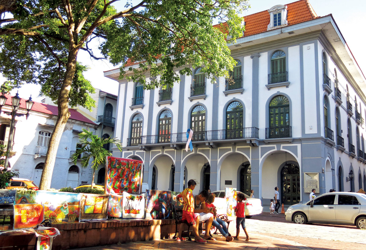 Panama City's old Spanish quarter is a great place to hang out