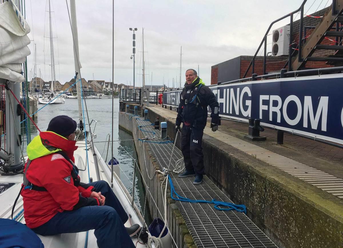 Lock discipline at Port Solent marina