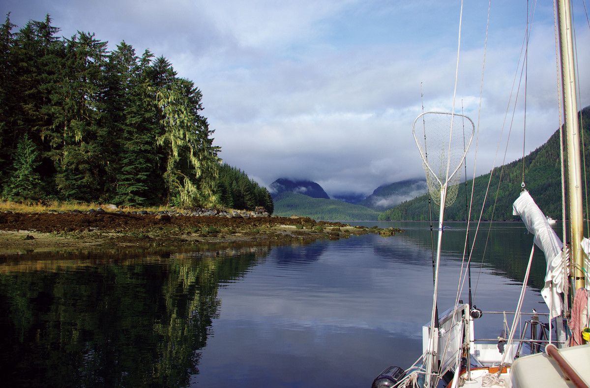 If you're a fan of quiet and unspoiled nature, you'll love exploring the Inside Passage