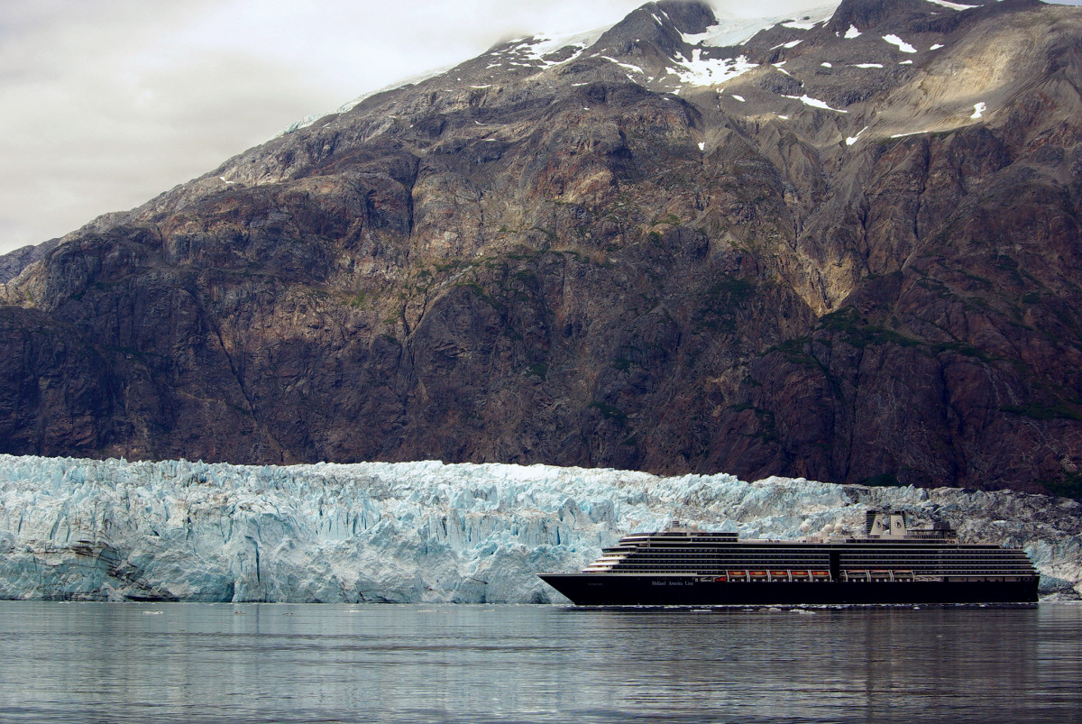 There's plenty of room for the odd cruise ship as well in Glacier Bay