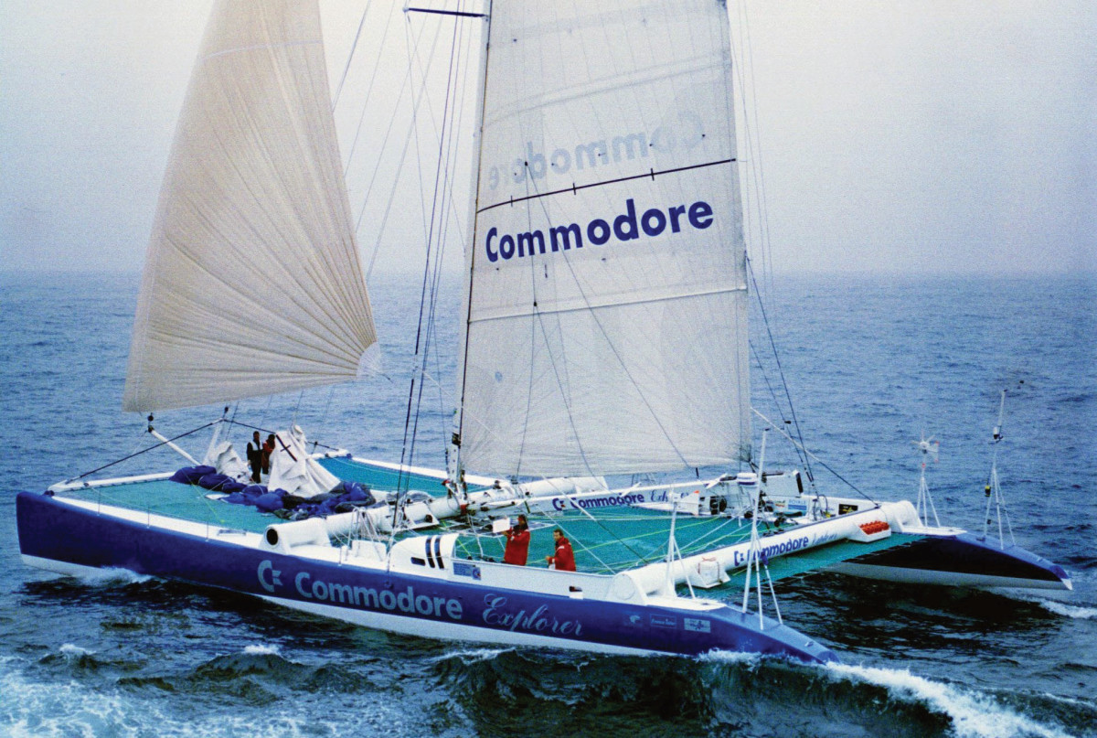 The one that started it all: Commodore Explorer closes in on the Jules Verne record