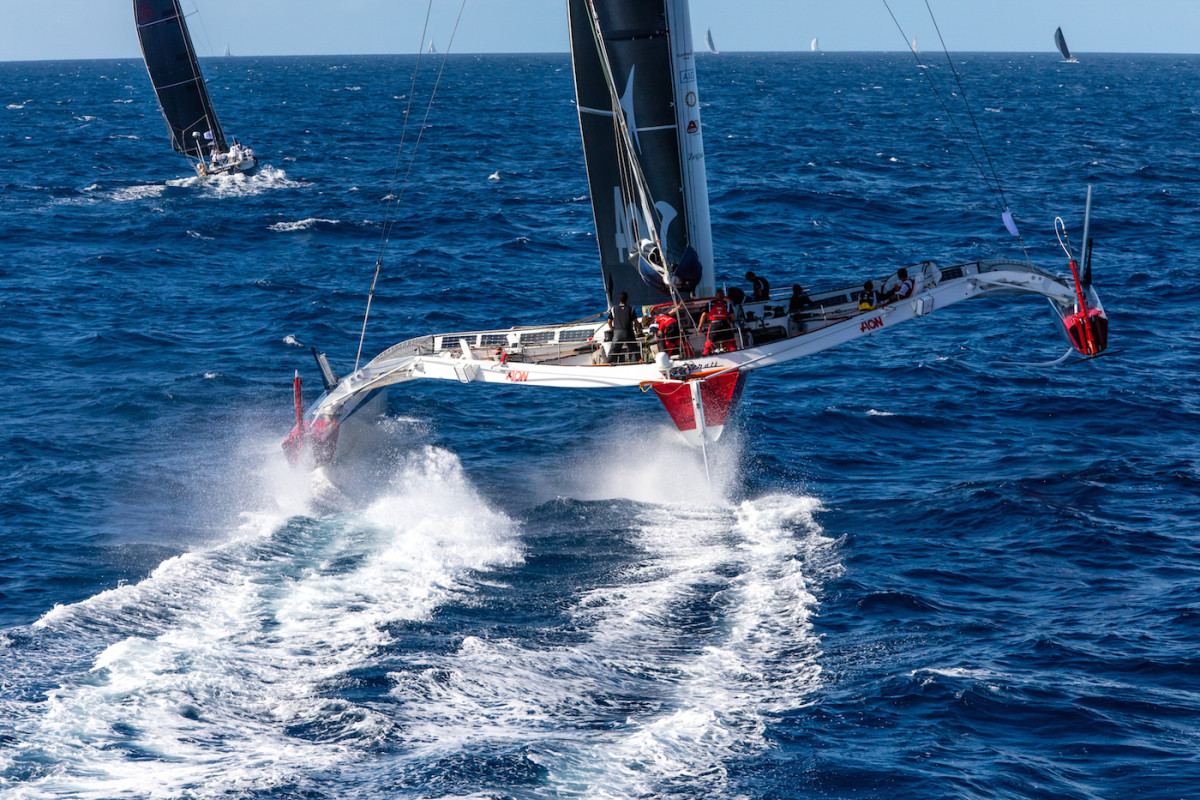 Race record-holder Maserati Multi70 skippered by Giovanni Soldini will make another go of it in 2022.