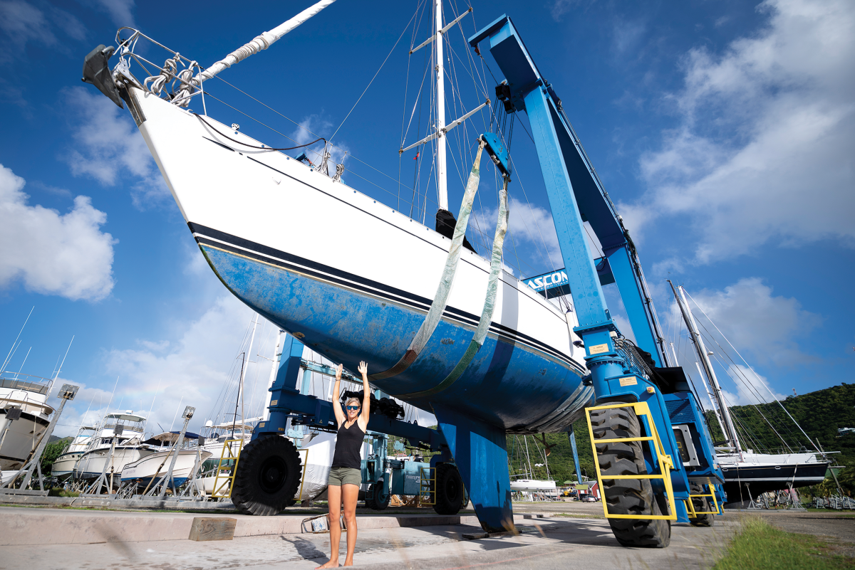V-ed bow sections and curved hull sections farther aft provide a more comfortable ride in rougher conditions
