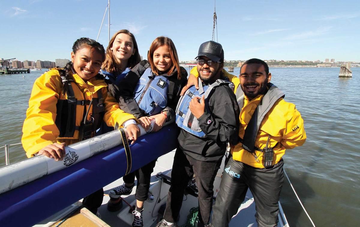 Sailing teaches team work and critical problem solving skills