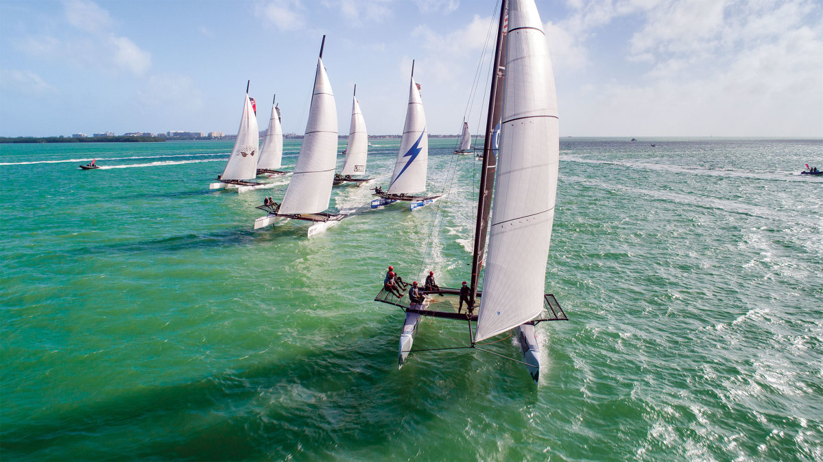 The M32 fleet is home to a die-hard mix of amateurs and pros