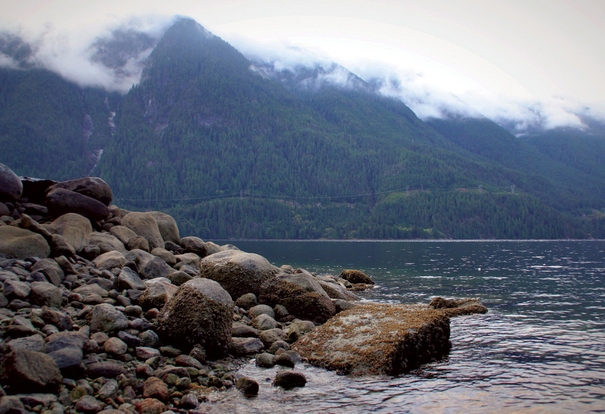 Sailing the Pacific Northwest means plenty of overcast, but plenty of great scenery as well