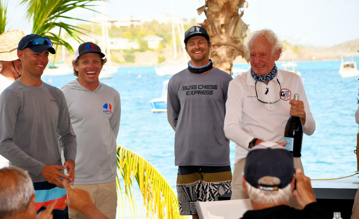 John Foster is still presiding over and racing in the event he founded 57 years ago