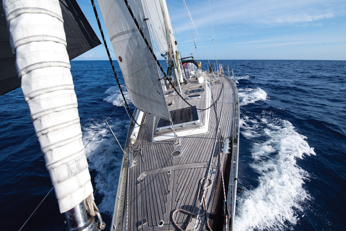 To live aboard a boat on-passage is to experience a whole new kind of world