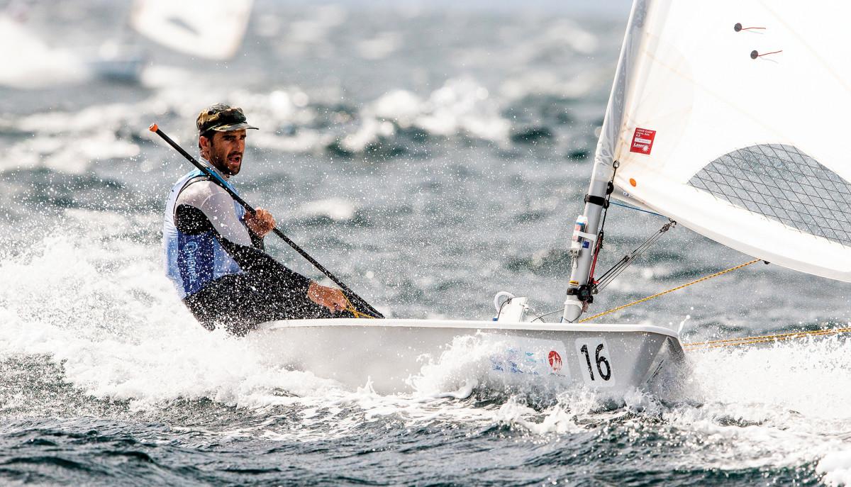 U.S. Laser sailor Charlie Buckingham is an Olympic veteran