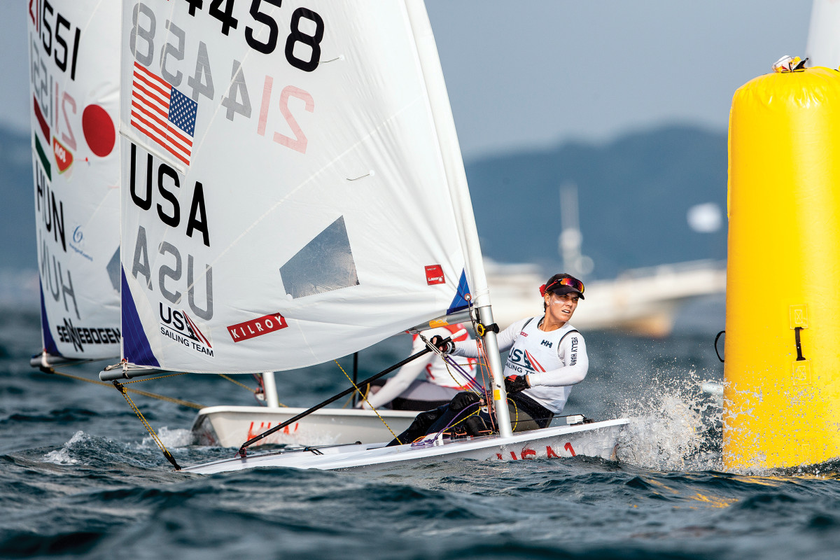 Veteran sailor Paige Railey will be representing the United States in the Laser Radial
