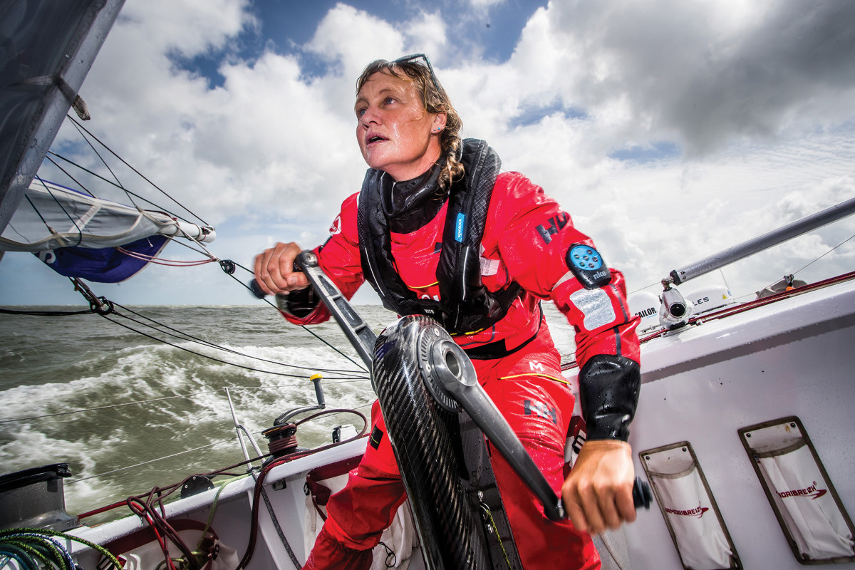 It takes incredible grit to compete in the Vendée Globe, especially aboard an older boat