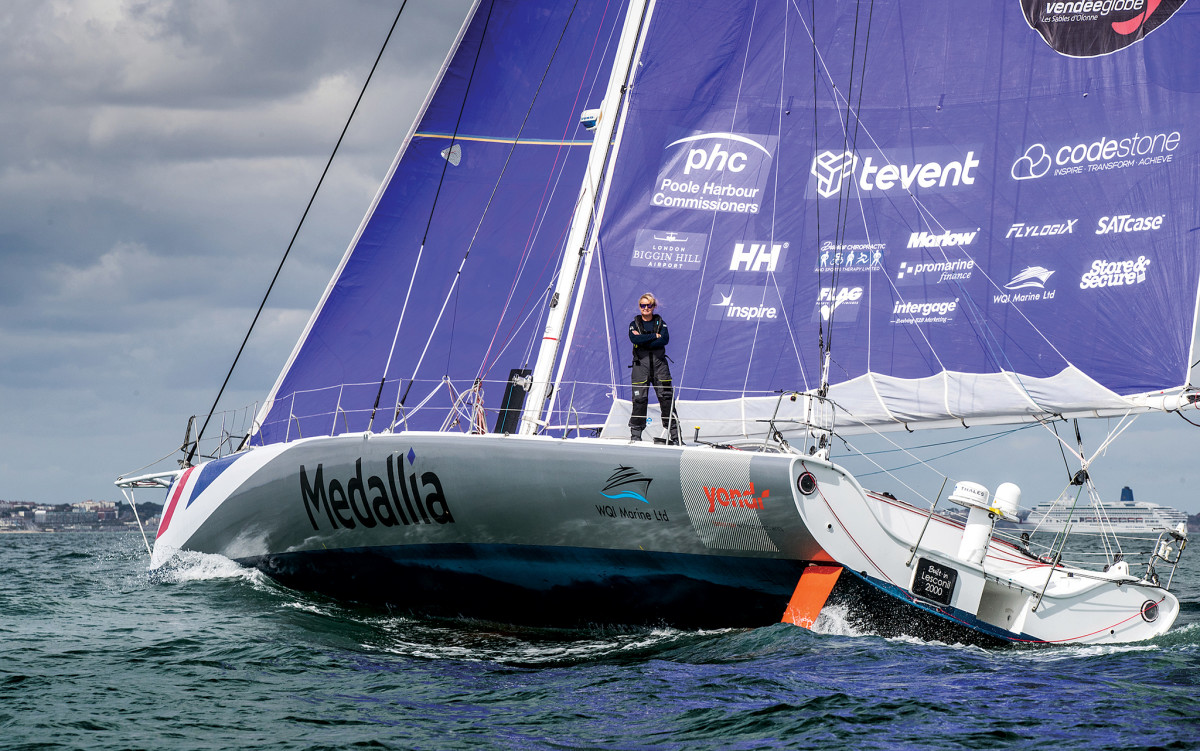 Hare at sea in the run-up to the 2020-21 Vendée Globe