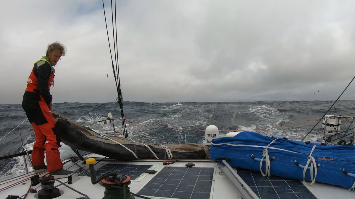 Everything is a bit tougher when you're sailing a late-generation IMOCA 60,