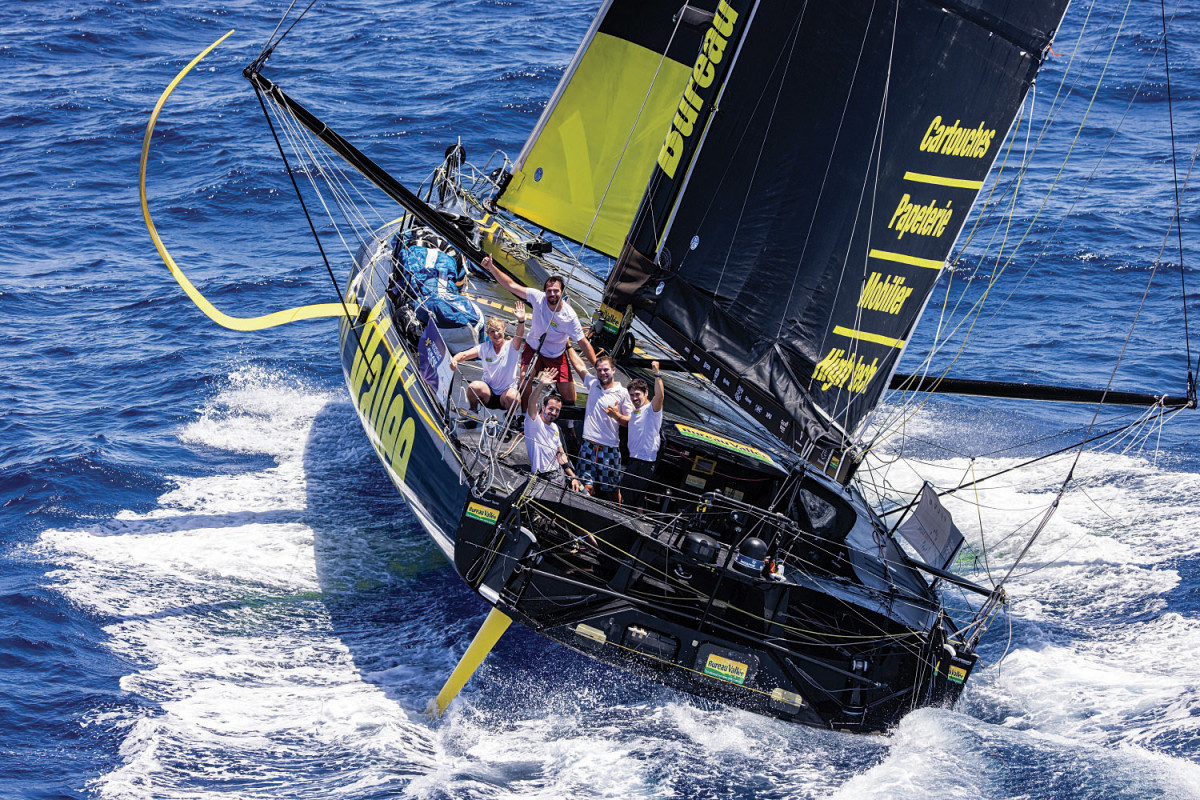 There are as many different IMOCA 60 designs as there are IMOCA 60s