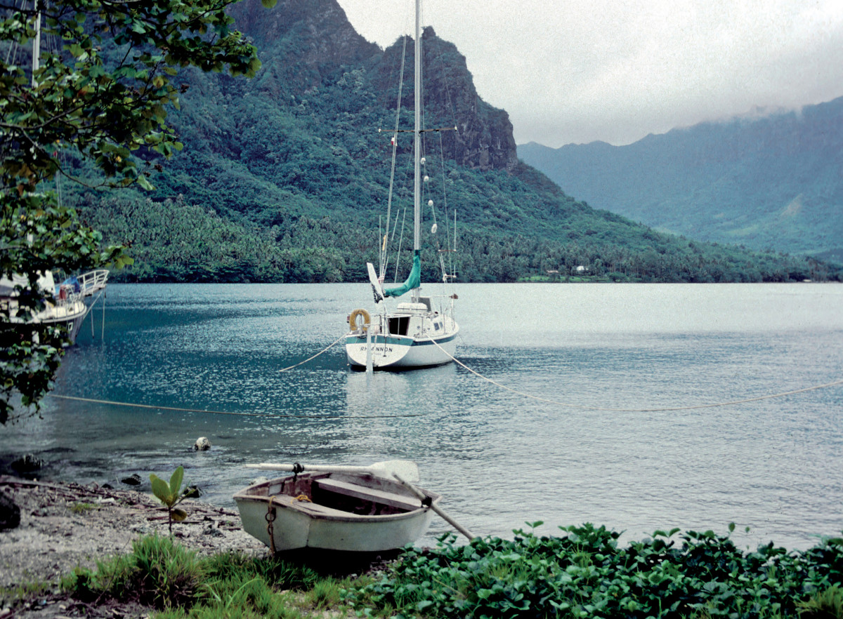 Yes, the crew did eventually make it to French Polynesia