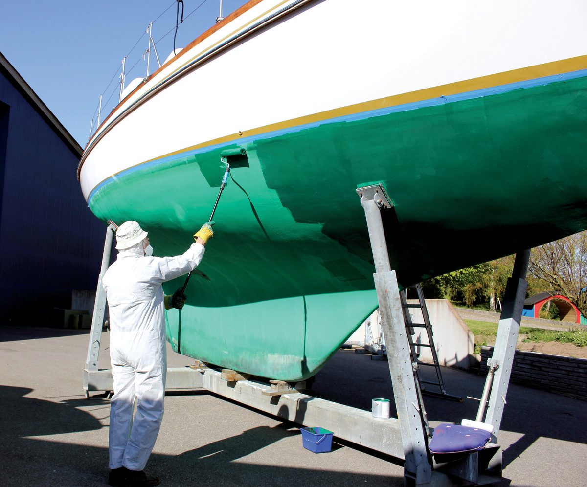 Don't forget your prop when applying antifouling